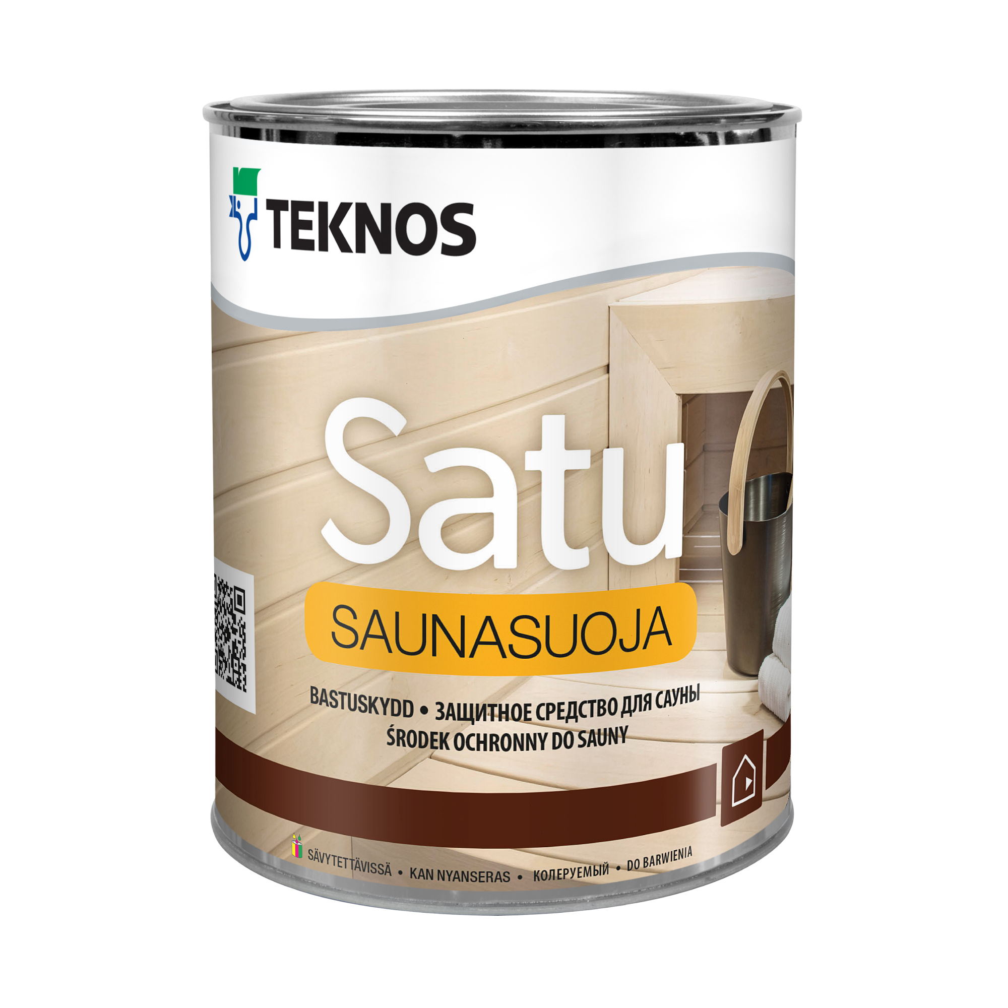 Защитное средство Tenkos для сауны Satu Saunasuoja PM3 1 л фото