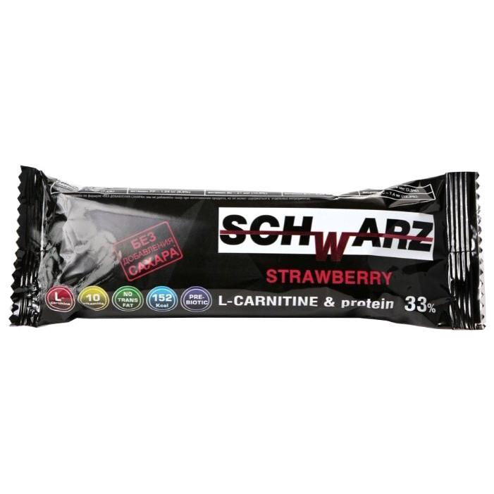 Батончик протеиновый Schwarz Клубника 50 г