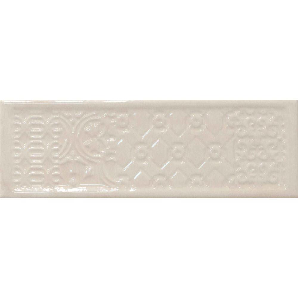 Декор Cifre Ceramica Titan Ivory 10х30,5 см декор ape ceramica globe decor set 2 base miel 20x50 см