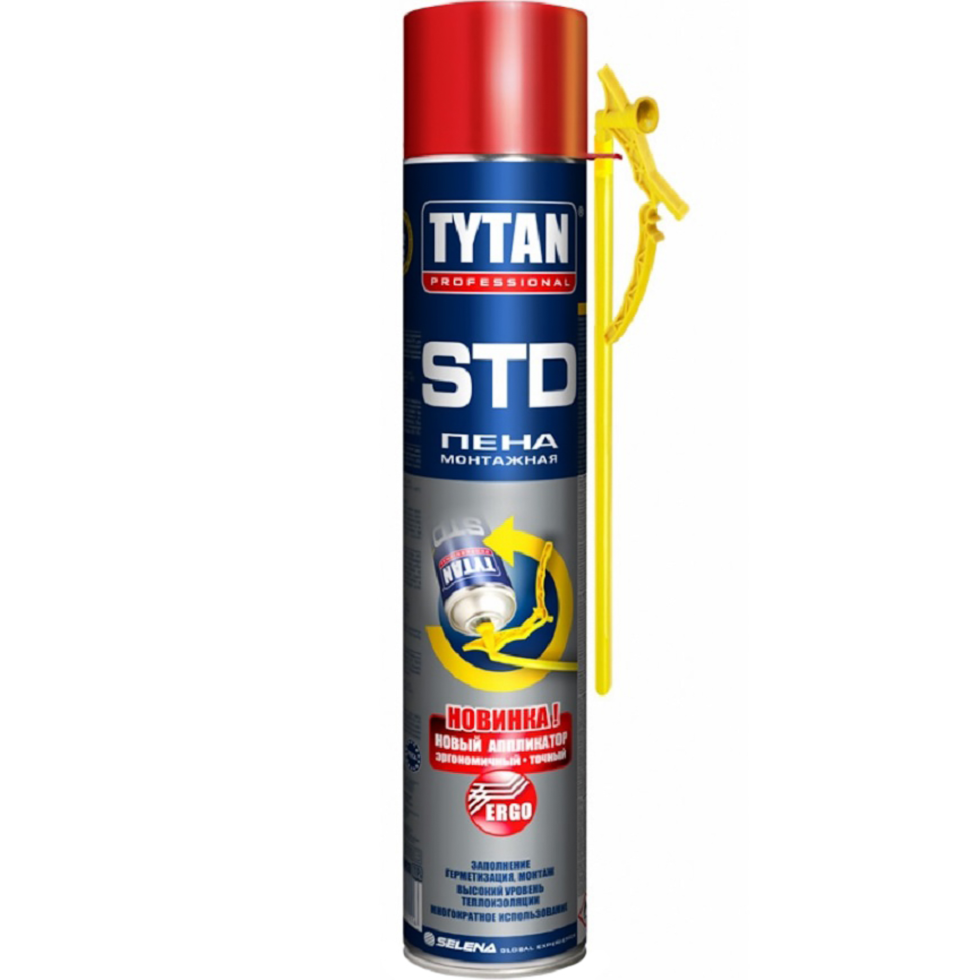 Монтажная пена Tytan Professional STD ERGO 500 мл