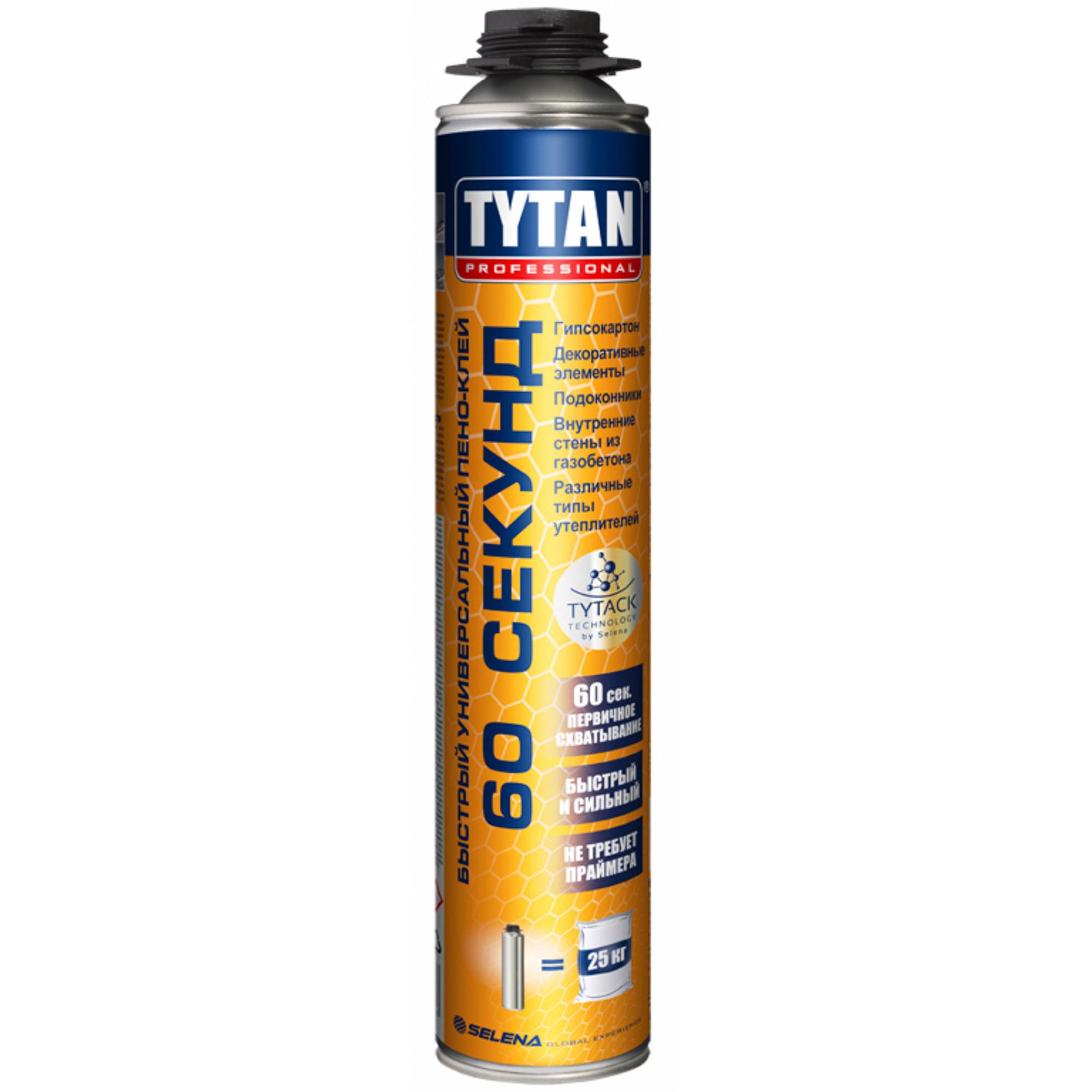 Пено-клей Tytan 60 Секунд 750 мл.