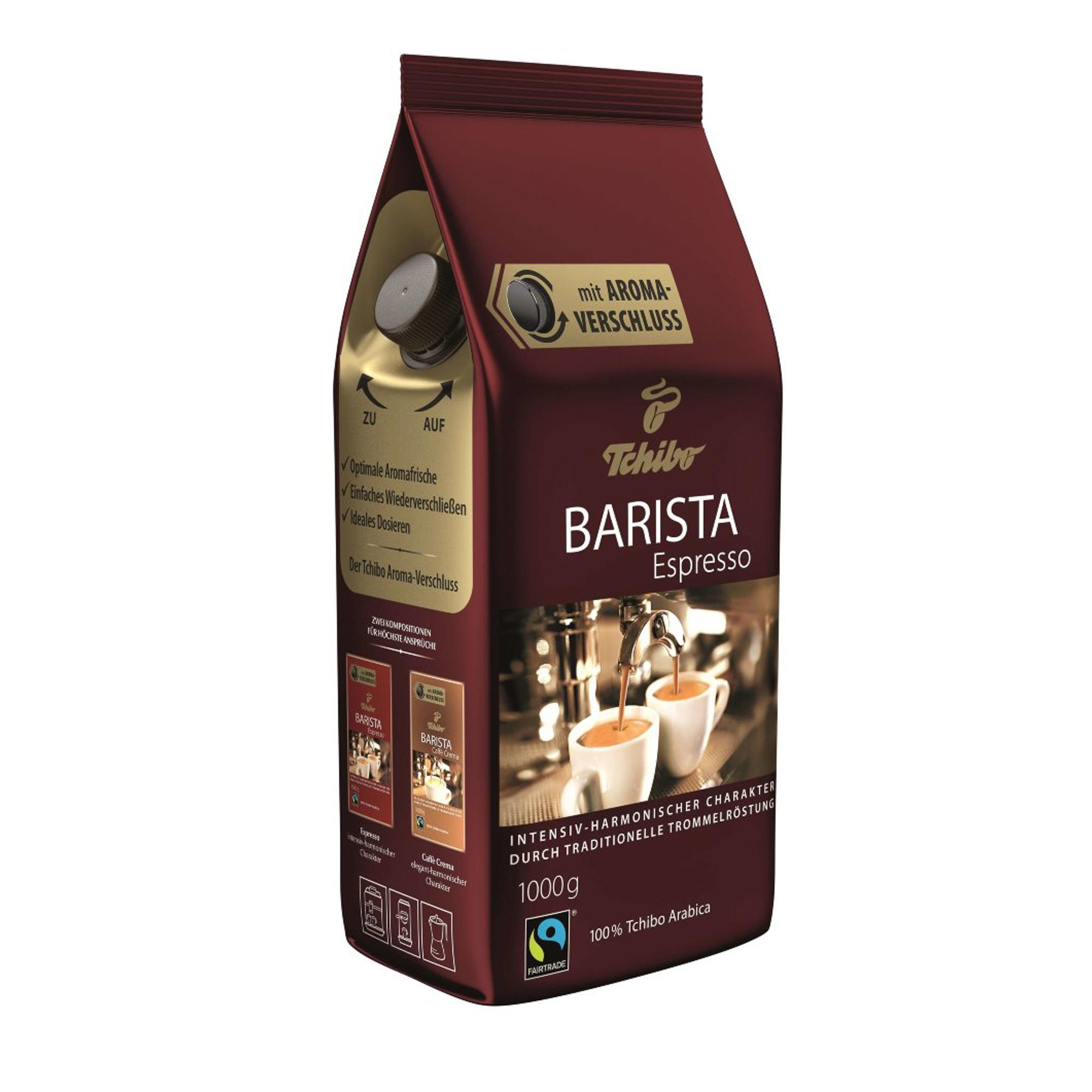 Кофе в зернах Tchibo Barista Espresso 1 кг