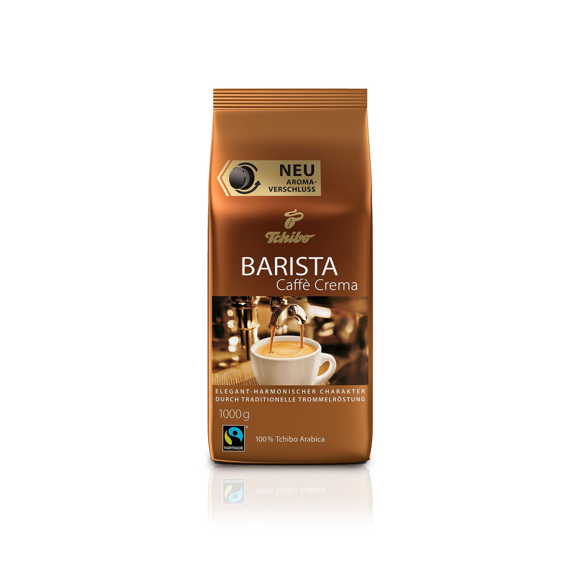 Кофе в зернах Tchibo Barista Caffe Crema 1 кг