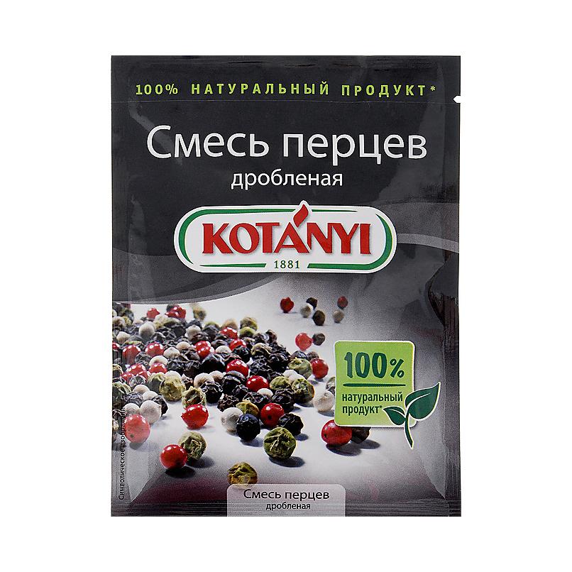Смесь перцев дробленая Kotanyi 12 г смесь перцев spice master 85 г