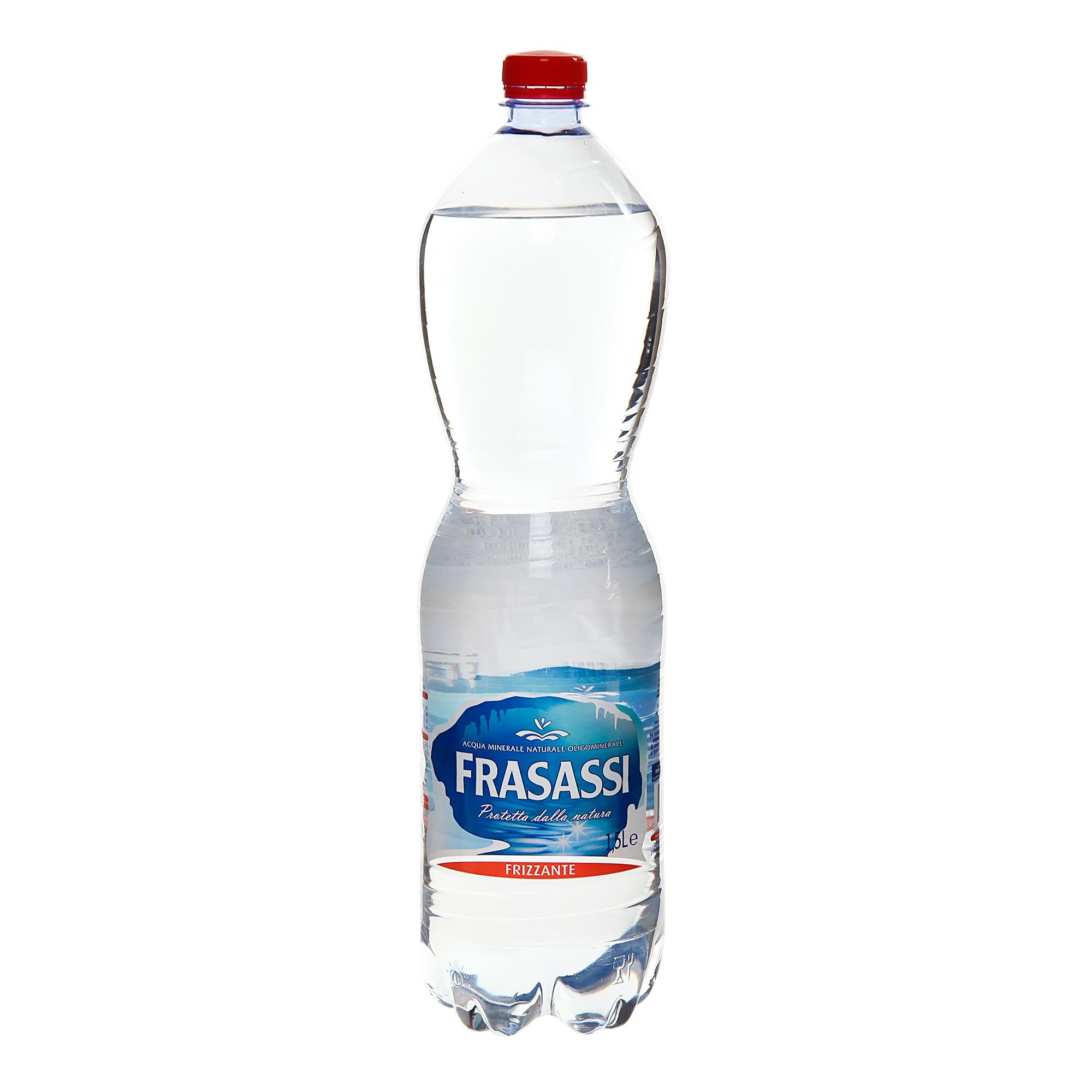 Фото - Вода минеральная Frassasi газированная 1,5 л минеральная вода zagori газированная стекло 0 75 л