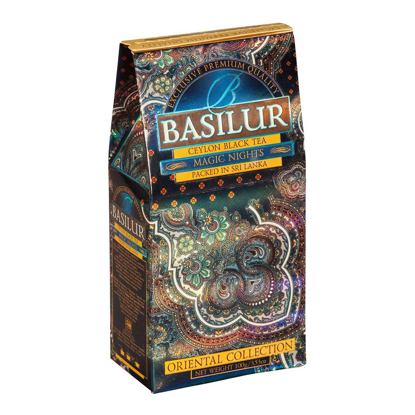 Чай черный Basilur Восточная коллекция Волшебные ночи 100 г фото