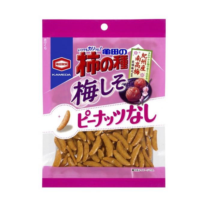 Крекеры рисовые Kakinotane с японской сливой 105 г крекеры ufeelgood рисовые с черным кунжутом 60 г