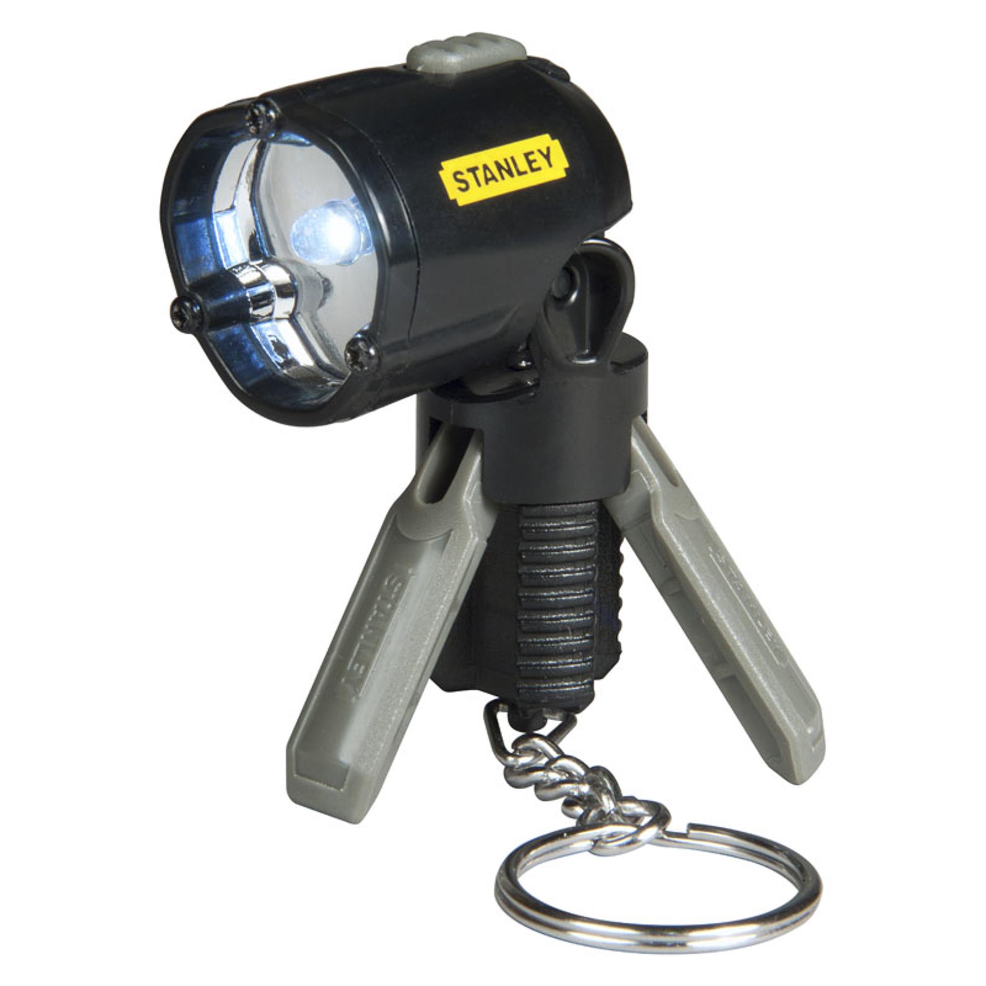 Фонарик-брелок светодиодный STANLEY MaxLife Mini Tripod с мини-треногой