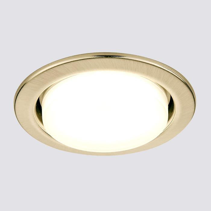 Встраиваемый светильник Ambrella GX53 CLASSIC G101 SB
