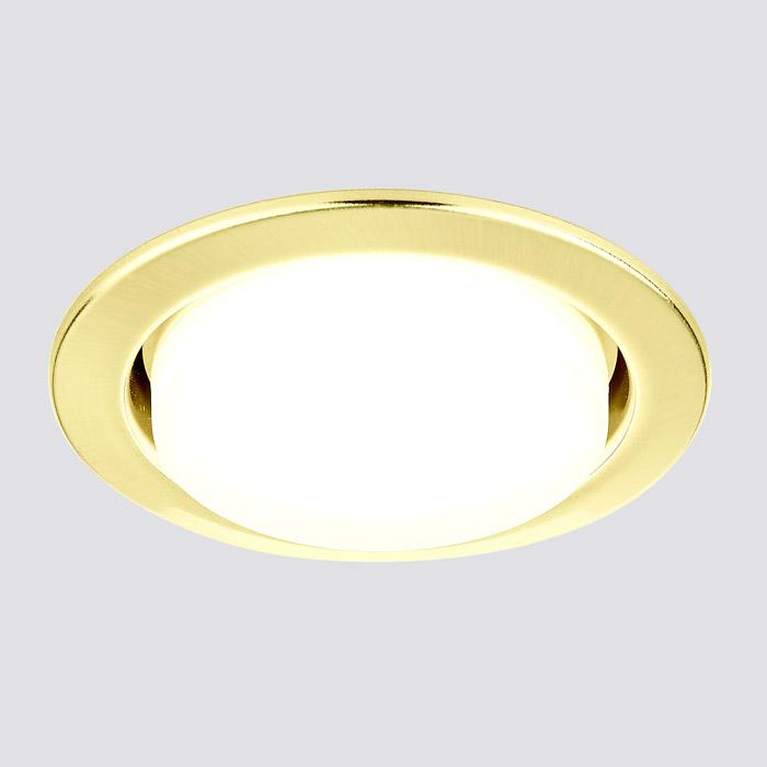 Встраиваемый светильник Ambrella GX53 CLASSIC G101 GD
