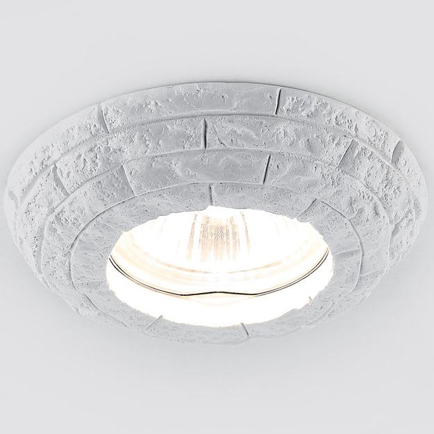Светильник белый гипс mr16 Ambrella light D2940 W фото