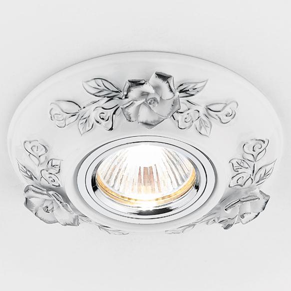 Светильник бел хром керамик Ambrella light D5503 W/CH