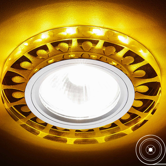Фото - Светильник светодиодный Ambrella light S219 WH/CH/YL светильник светодиодный ambrella light s219 wh ch wh