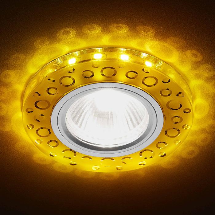 Светильник светодиодный Ambrella light S218 WH/CH/WA