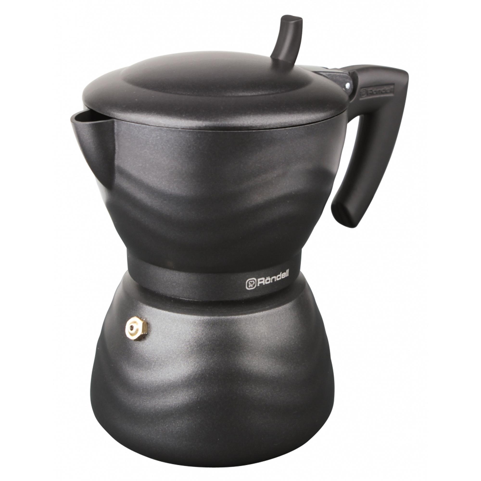 Фото - Гейзерная кофеварка Rondell Walzer на 6 чашек гейзерная кофеварка на 6 чашек 350 мл pensofal