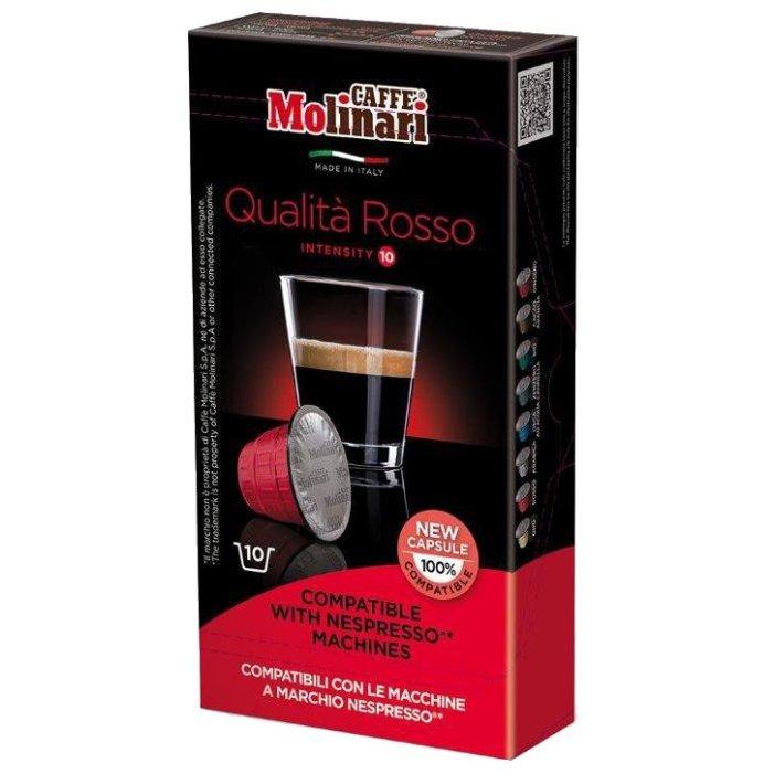Кофе в капсулах Molinari Rosso 10 шт фото