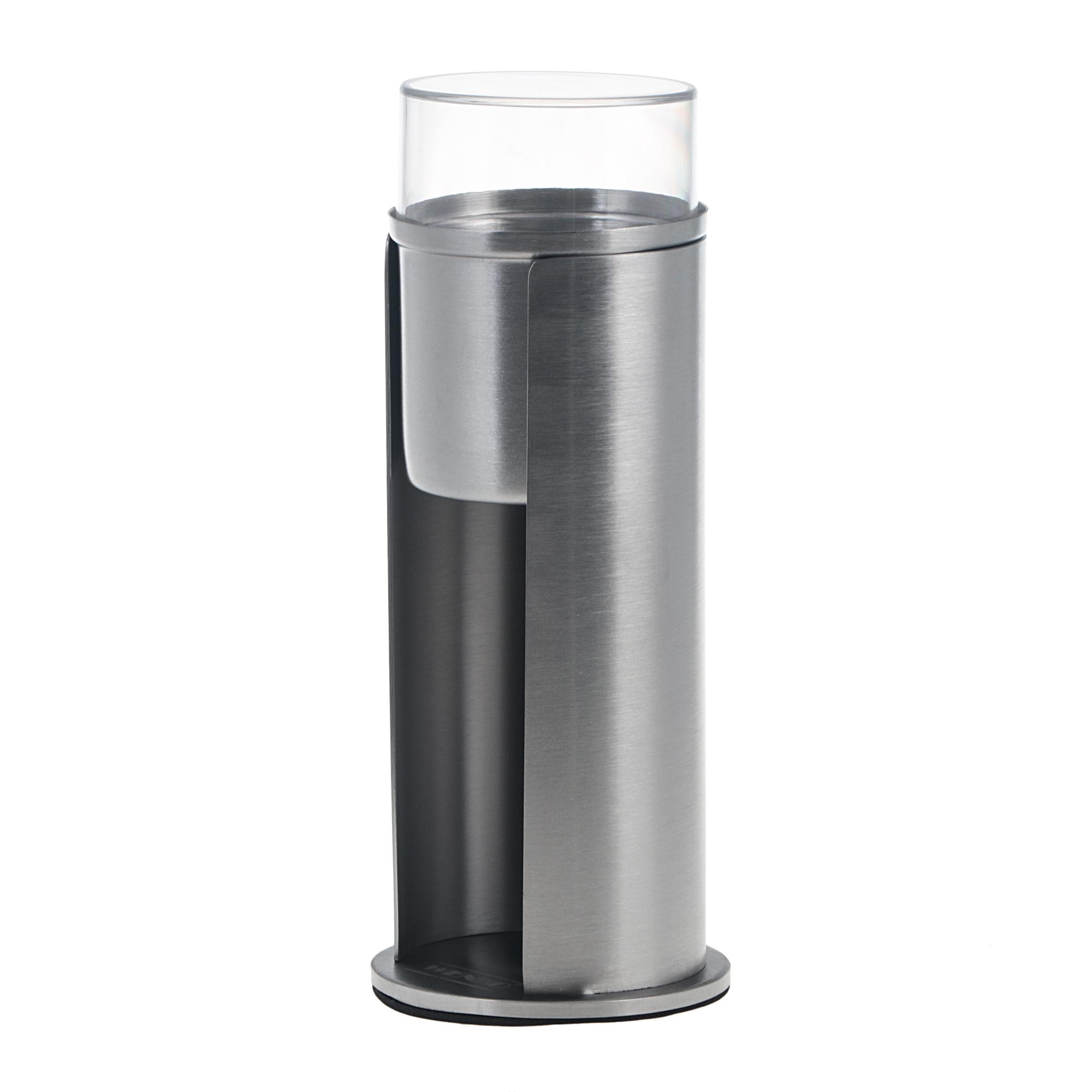 Держатель для ватных дисков Wenko sanitary firenze 7.5x18x7.5 см фото