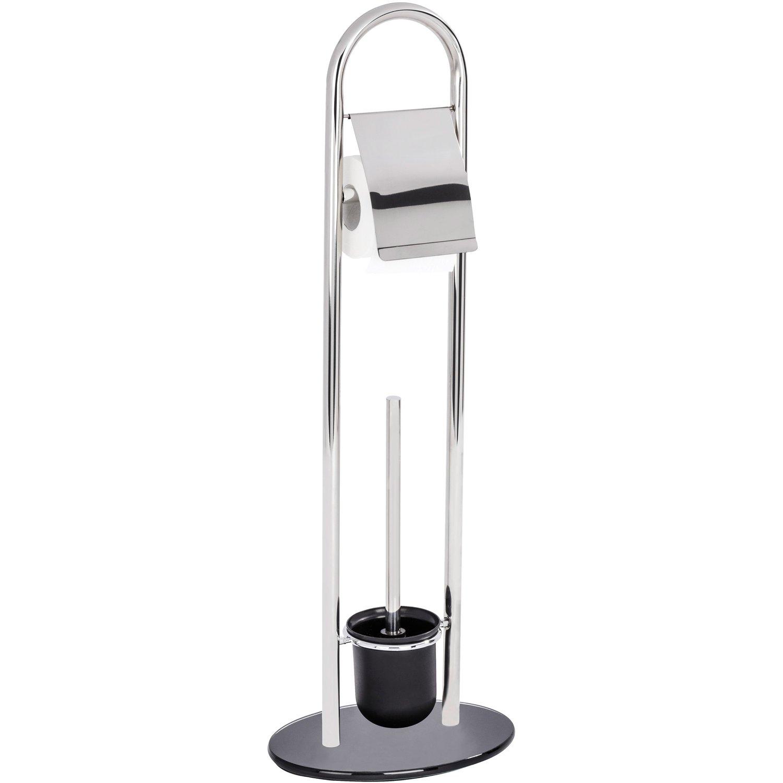 Гарнитур для туалета Wenko Atlanta гарнитур для туалета wenko sanitary brush samona