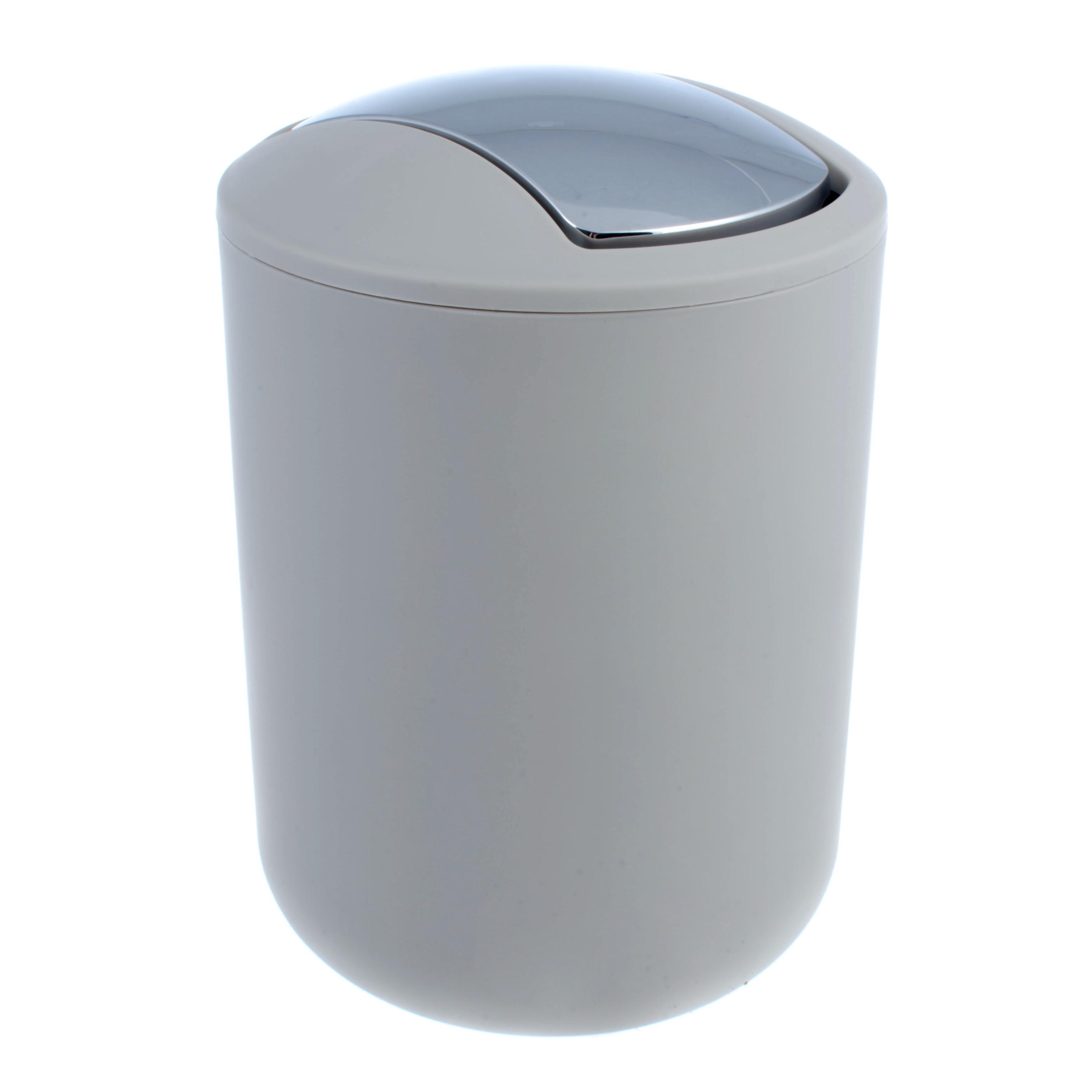 Ведро мусорное brasil taupe Wenko sanitary