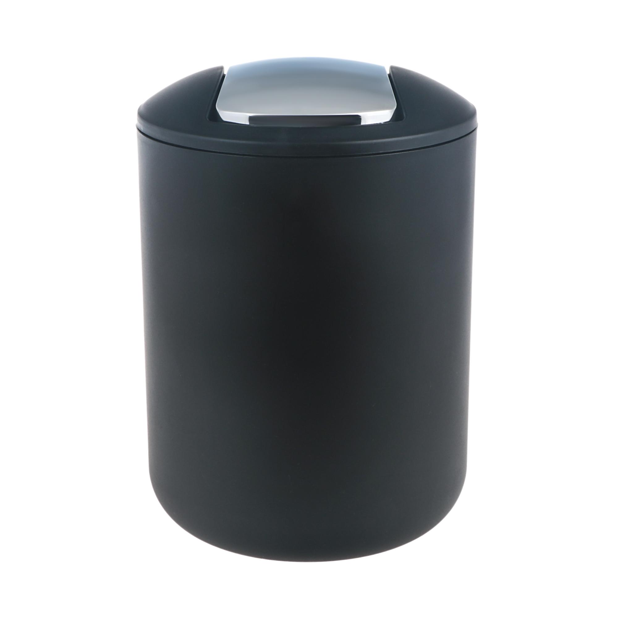 Ведро мусорное Wenko sanitary brasil черное