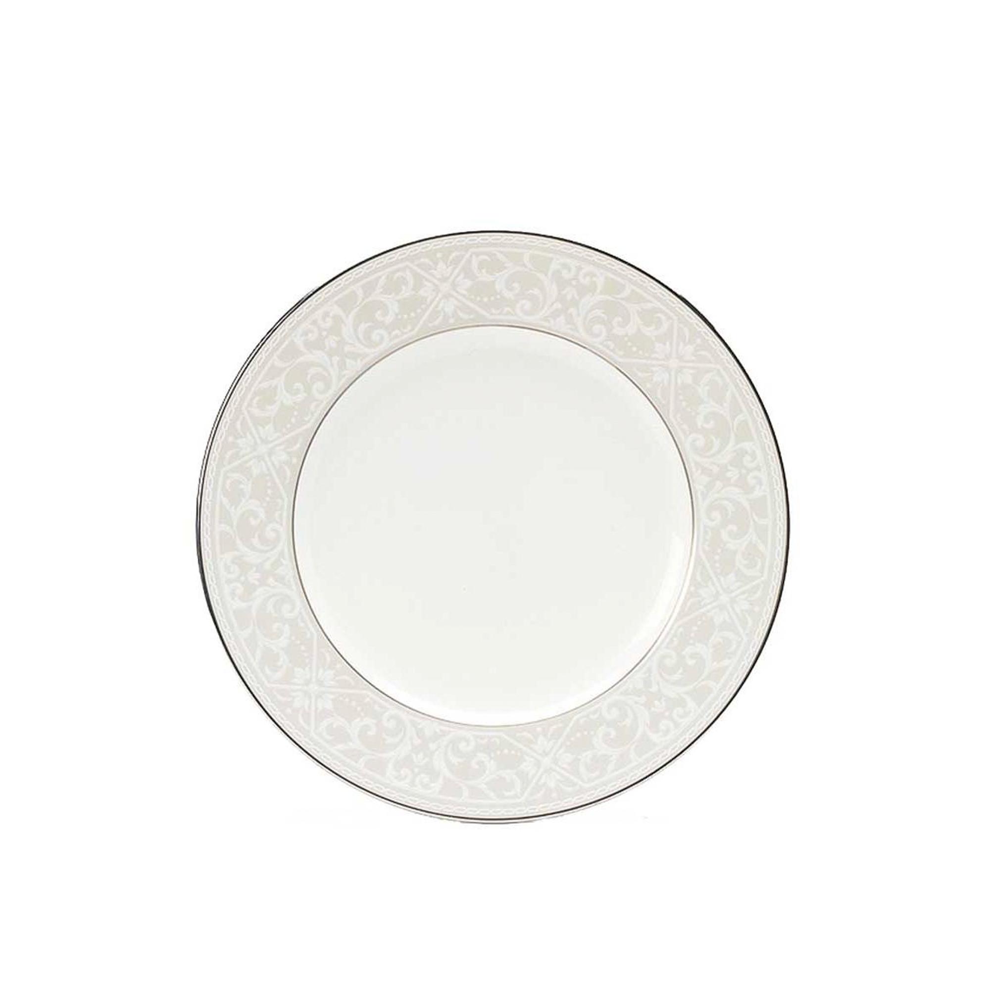 Тарелка закусочная Noritake Монтвейл 21 см тарелка закусочная noritake брум стрит 22см
