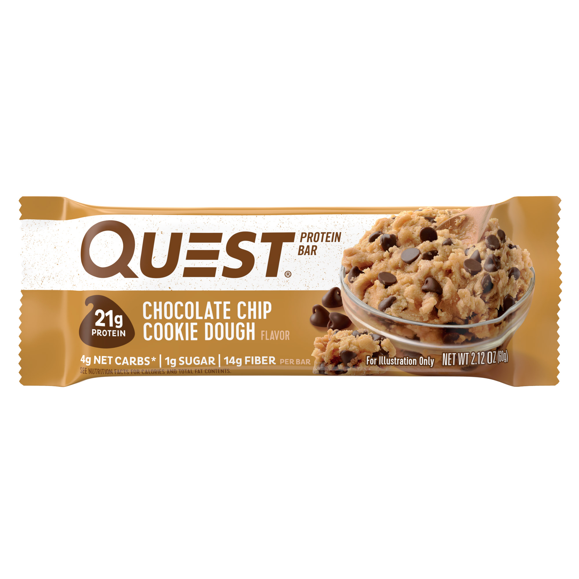 Фото - Батончик протеиновый Quest Nutrition QuestBar печенье с кусочками шоколада 60 г biotech nutrition b complex 60 таб