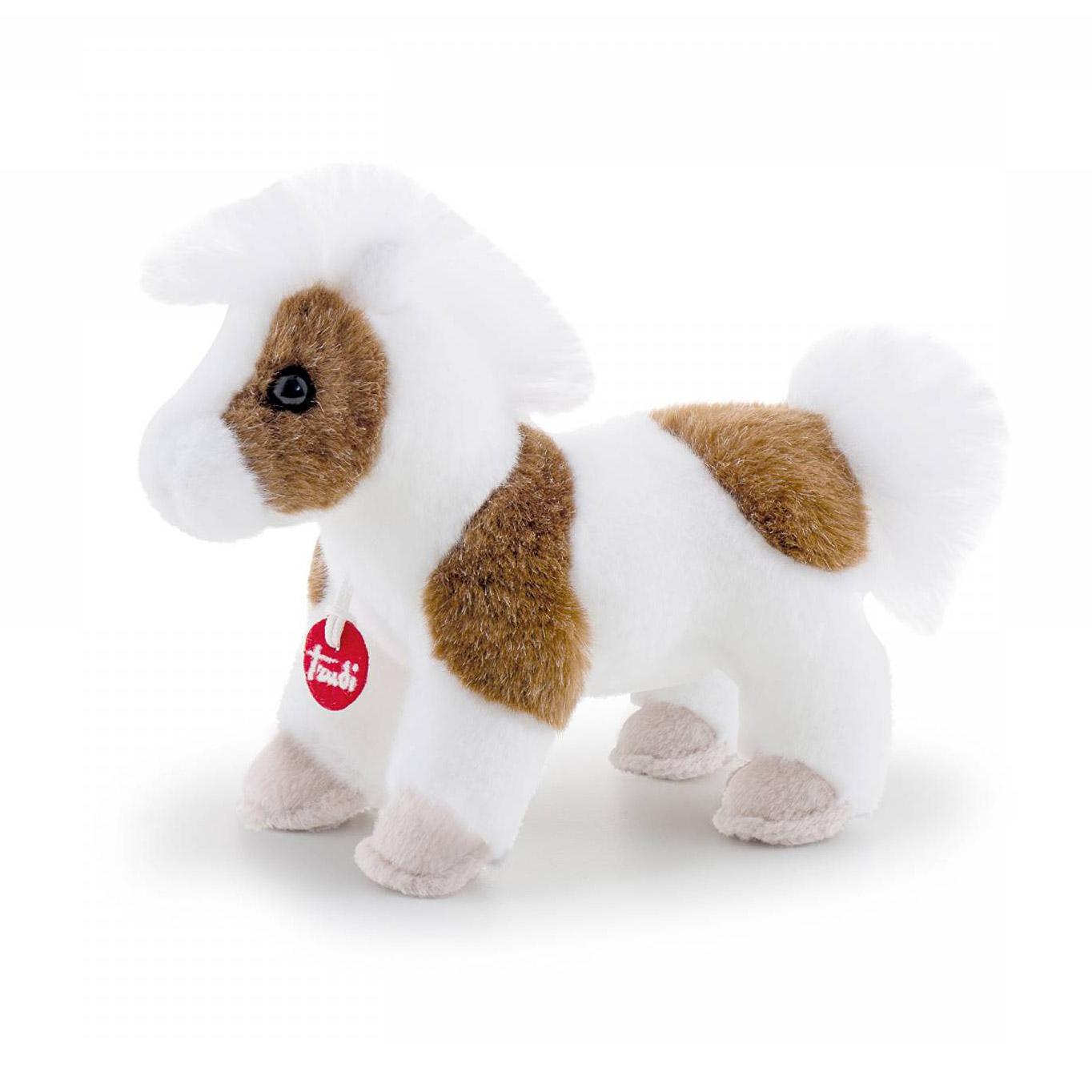 Мягкая игрушка Trudi Лошадка Делюкс 15 см мягкая игрушка trudi заяц белый 28 см