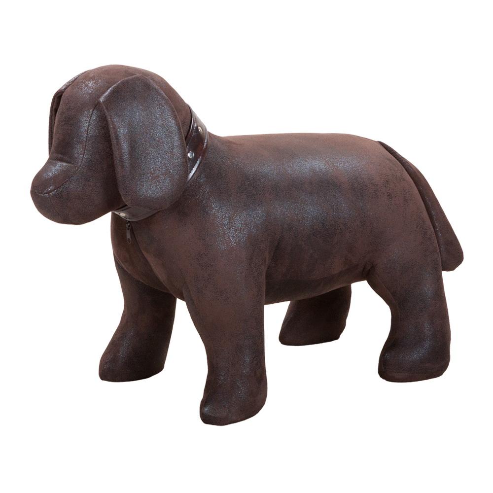 Банкетка Aim Бруно малая искусственная замша шоколад