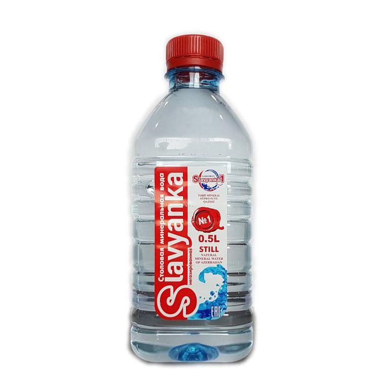 Вода Slavyanka без газа 500 мл
