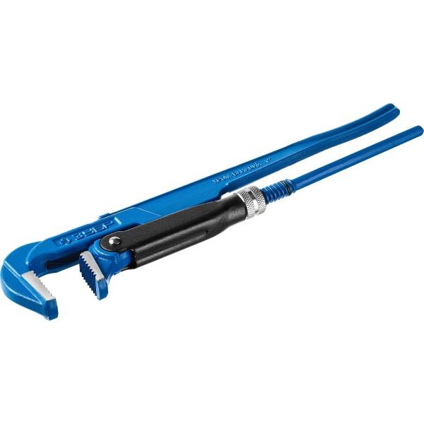 Ключ трубный рычажный ЗУБР профессионал № 1, 1 330 мм ключ прямой трубный зубр мастер 27314 1