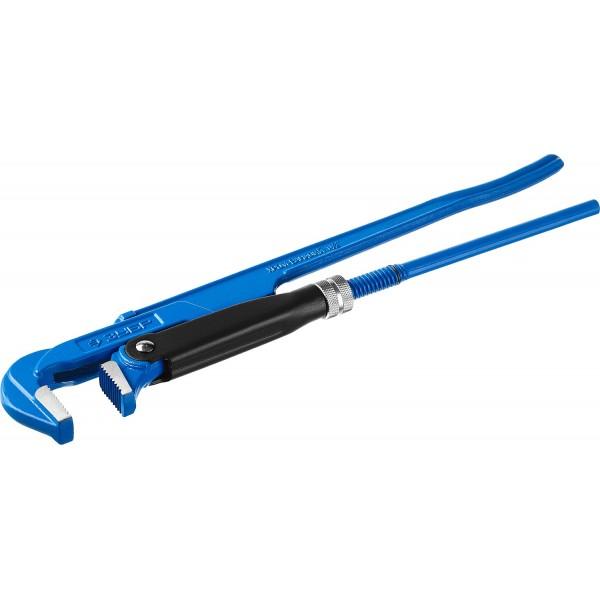 Ключ трубный рычажный ЗУБР профессионал № 2, 1,5 440 мм ключ трубный радиаторный newton srn 1084