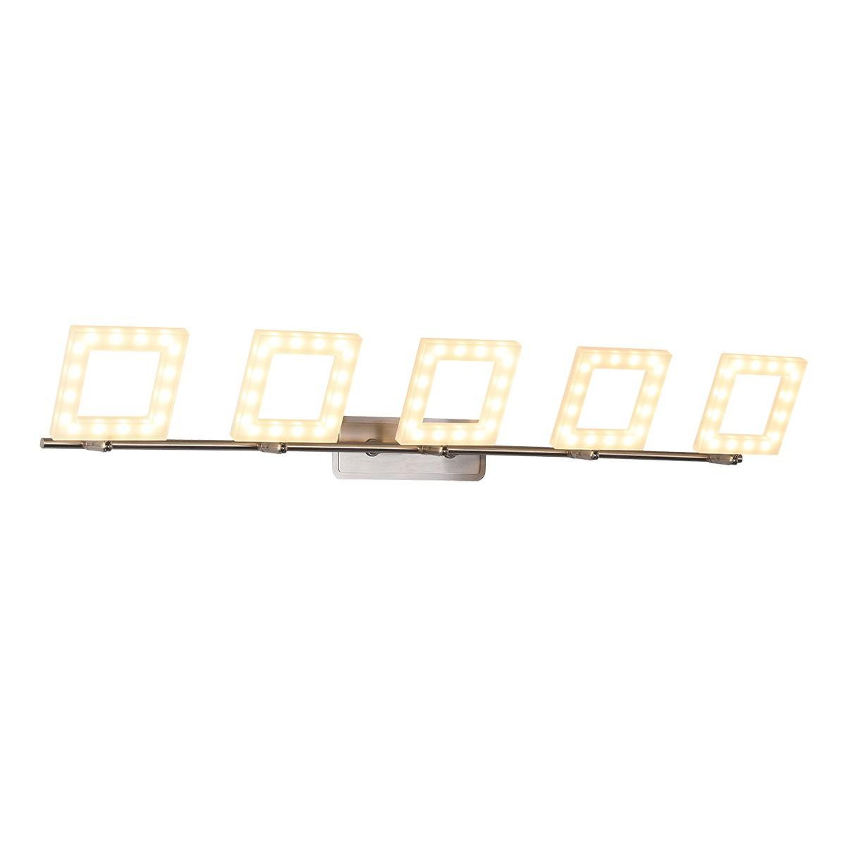 Спот ID Lamp Piazza 106/5PF-LEDWhitechrome фото