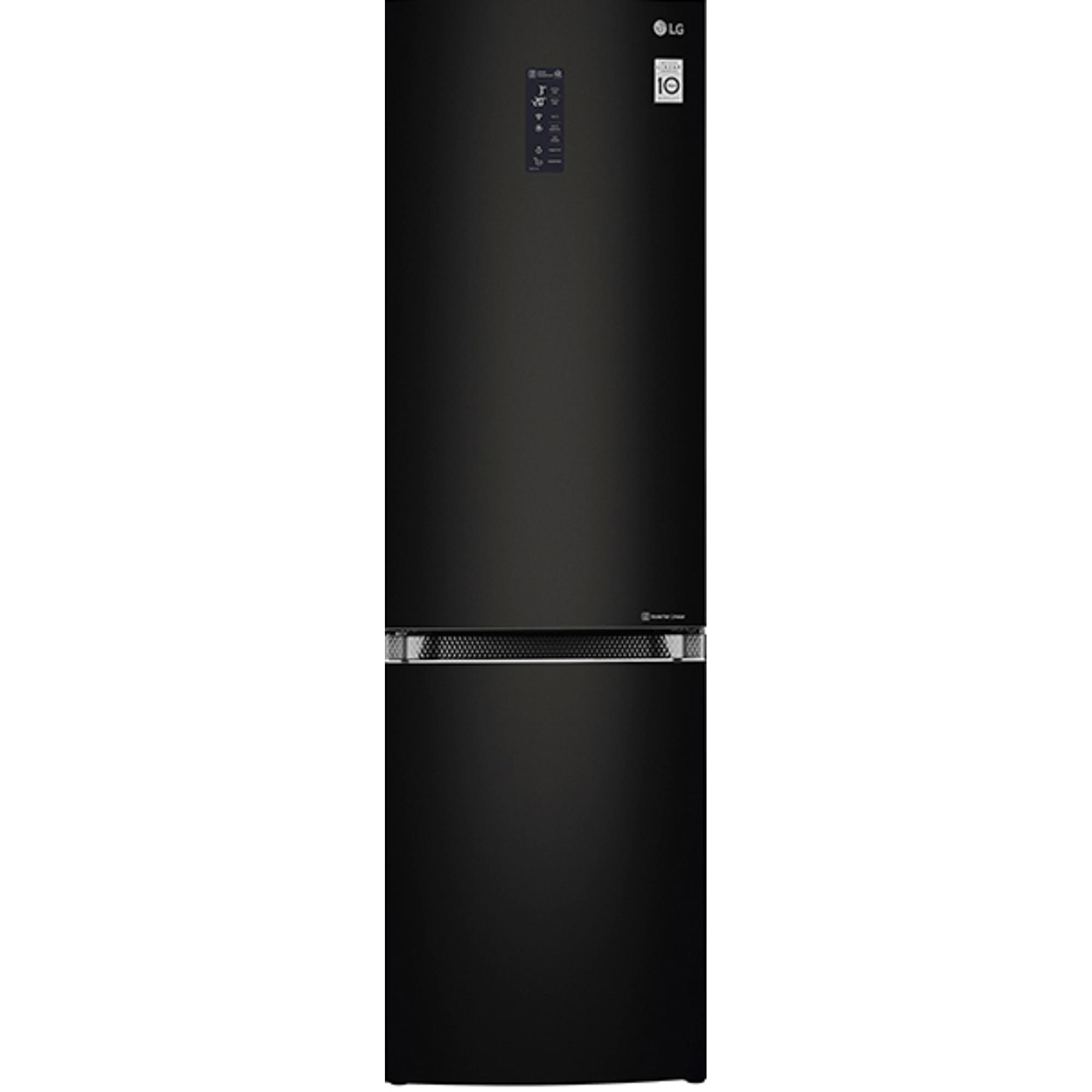 Холодильник LG GA-B499TGBM черный