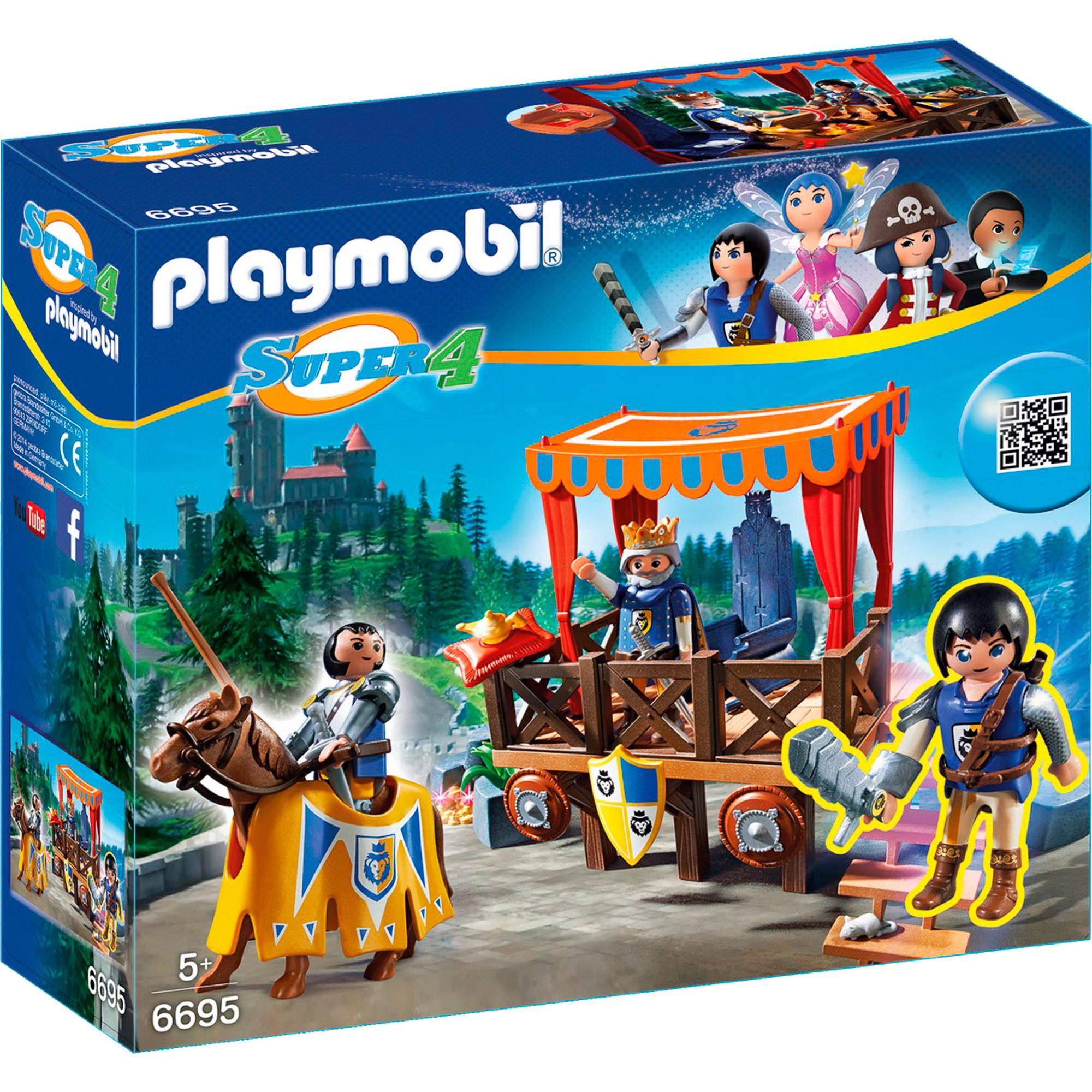 Конструктор Playmobil Королевская Трибуна с Алексом