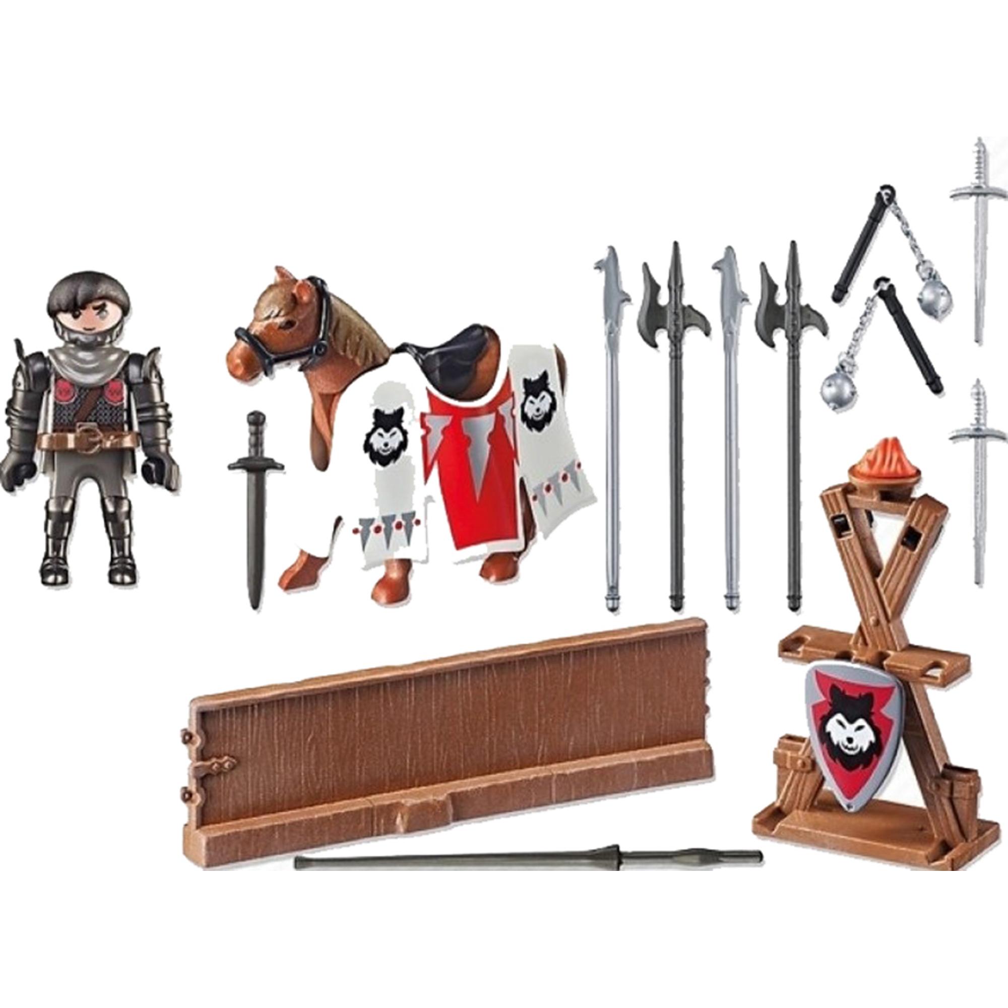 Игровой набор Playmobil Рыцарь Райпан, Стражник Черного Барона фото