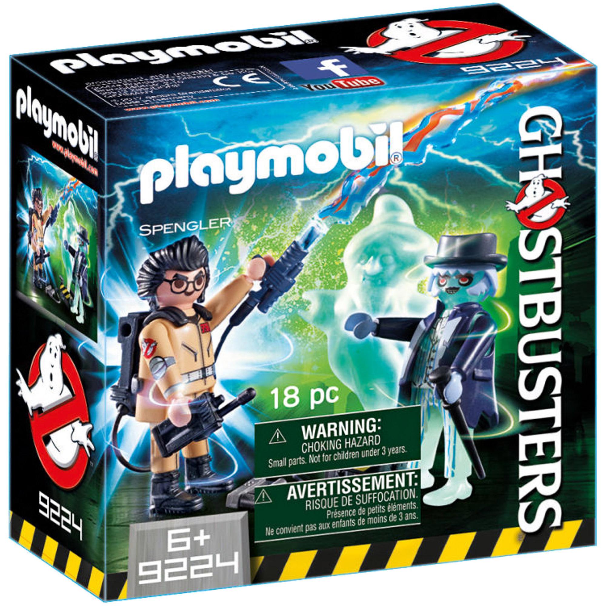 Фото - Игровой набор Playmobil Охотники за привидениями Игон Спенглер и привидение playmobil® конструктор playmobil охотник за привидениями
