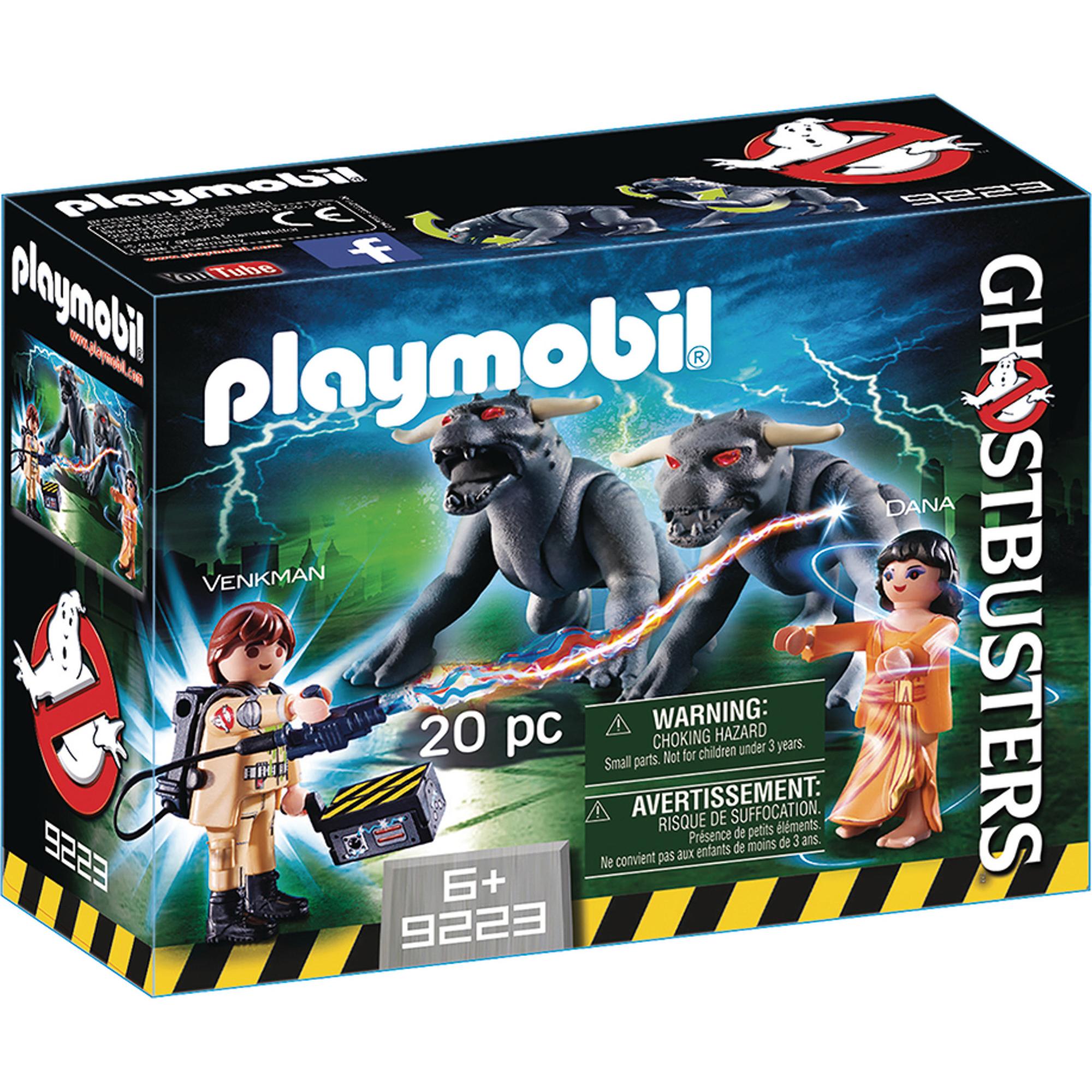 Фото - Игровой набор Playmobil Охотники за привидениями Питер Венкман и ужасные собаки playmobil® конструктор playmobil охотник за привидениями