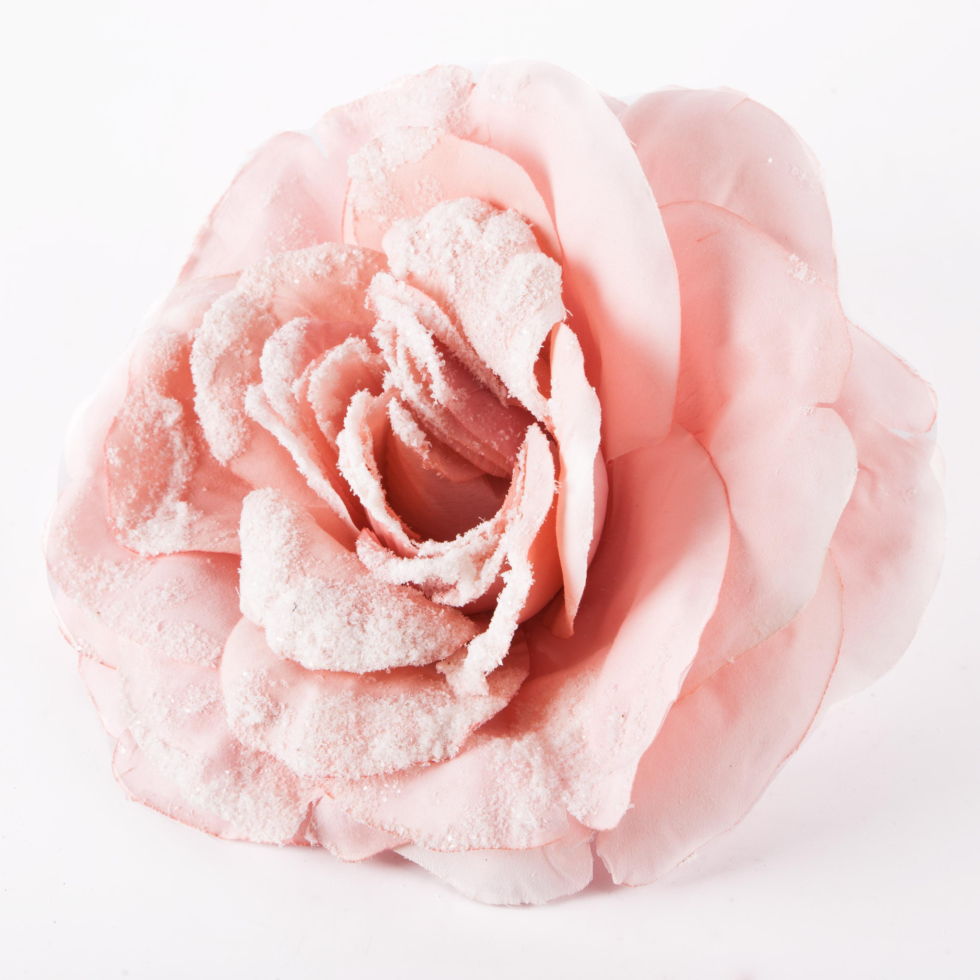 Цветок декоративный на клипсе 25cm Kaeming 629987 в ассортименте