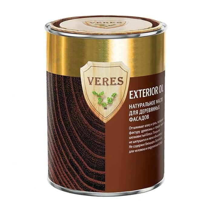 Масло для наружных работ Верес №17 (52308)