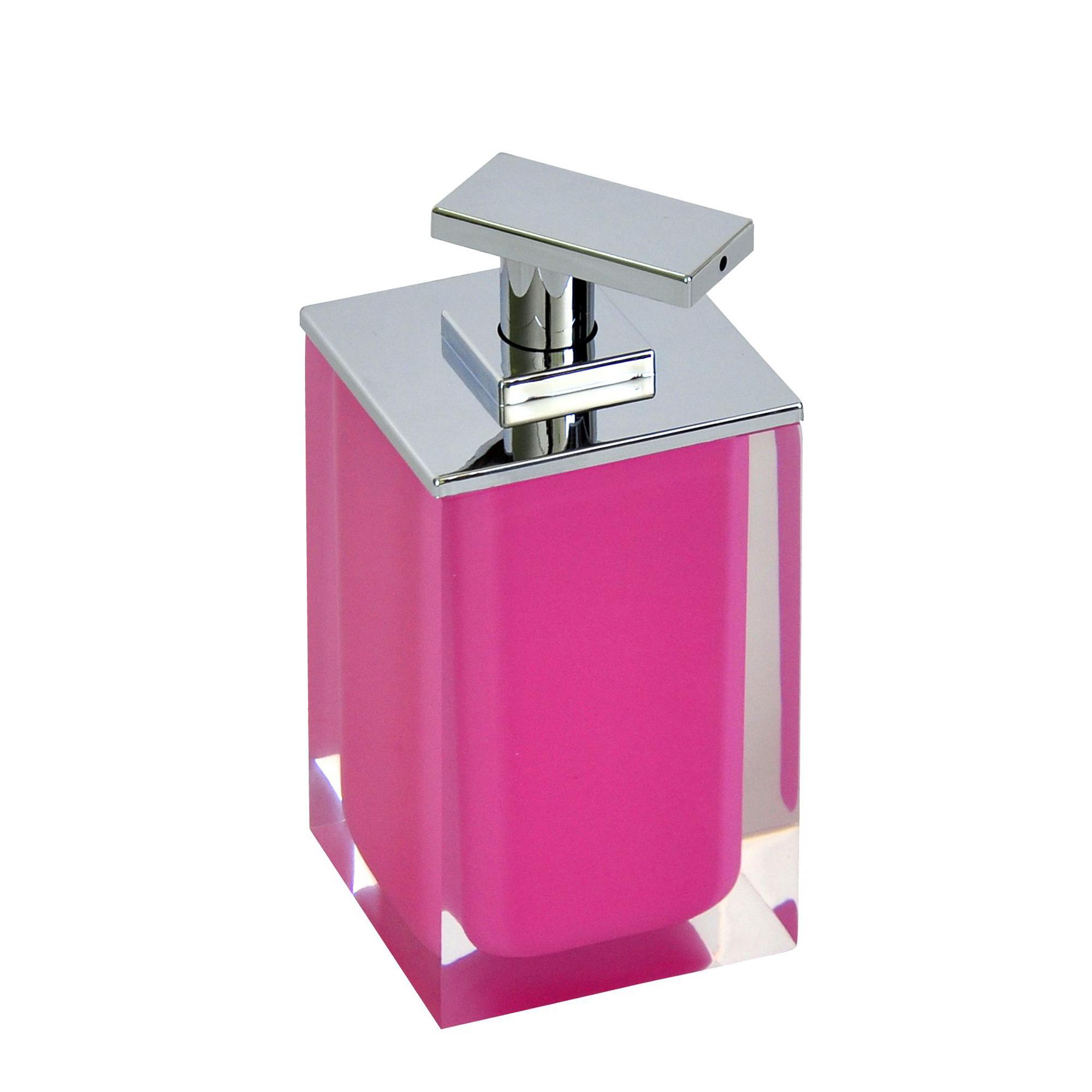 Дозатор для жидкого мыла Colours розовый Ridder ершик для унитаза ridder colours 22280402 розовый