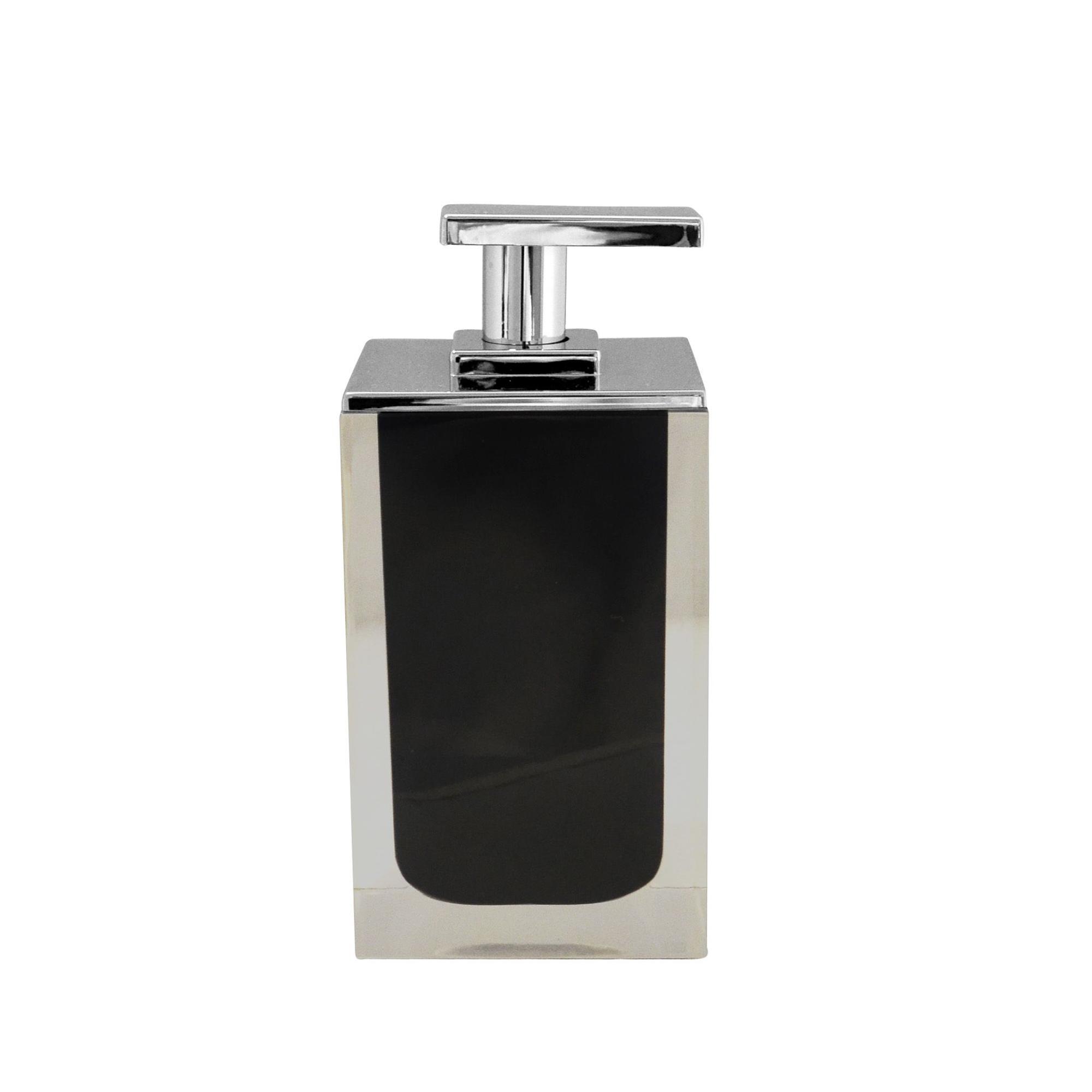 Фото - Дозатор для жидкого мыла Colours черный Ridder дозатор для жидкого мыла ridder paris 22250510 черный
