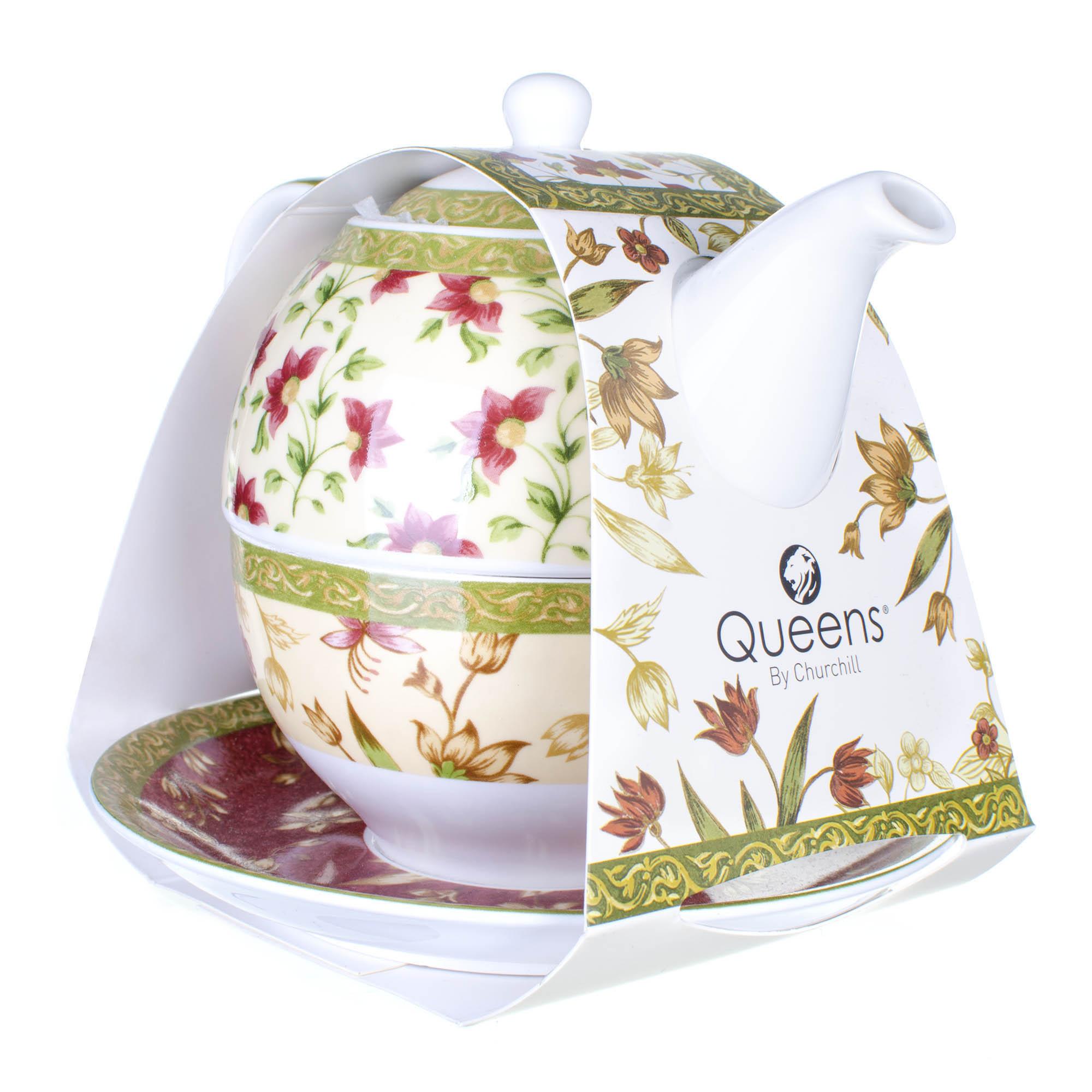 Фото - Набор цейлон 3 предмета Churchill CEYL00061 набор чайный гималайские цветы 3 предмета churchill himf00081
