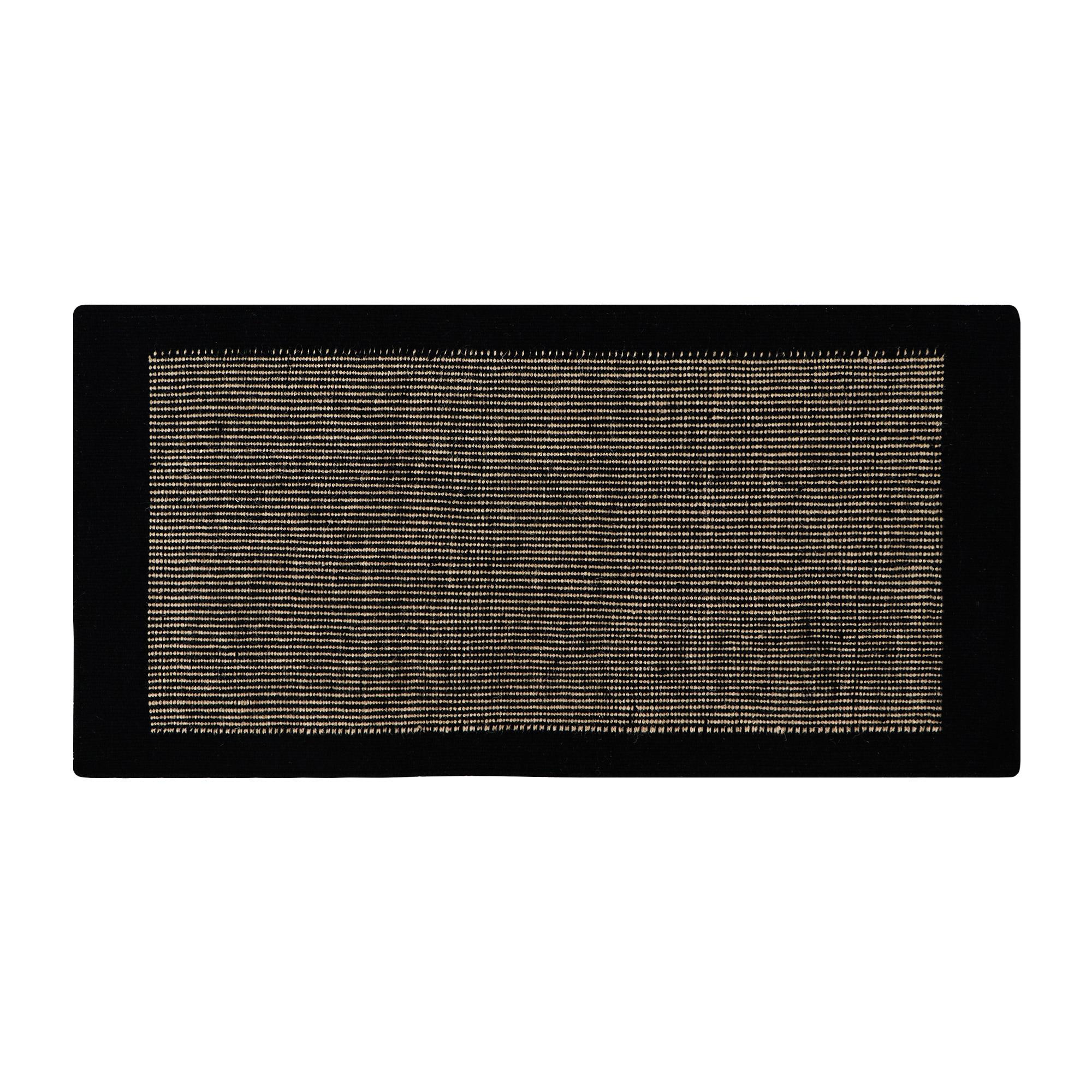 Фото - Коврик придверный черный/серый Abc jensen 70x140 коврик серый 80x50 abc la cucina zen