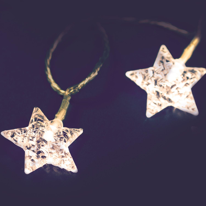 Фото - Гирлянда звезды Lotti 33641 гирлянда свечи 6м темно зеленый пвх 30 led тепло белые
