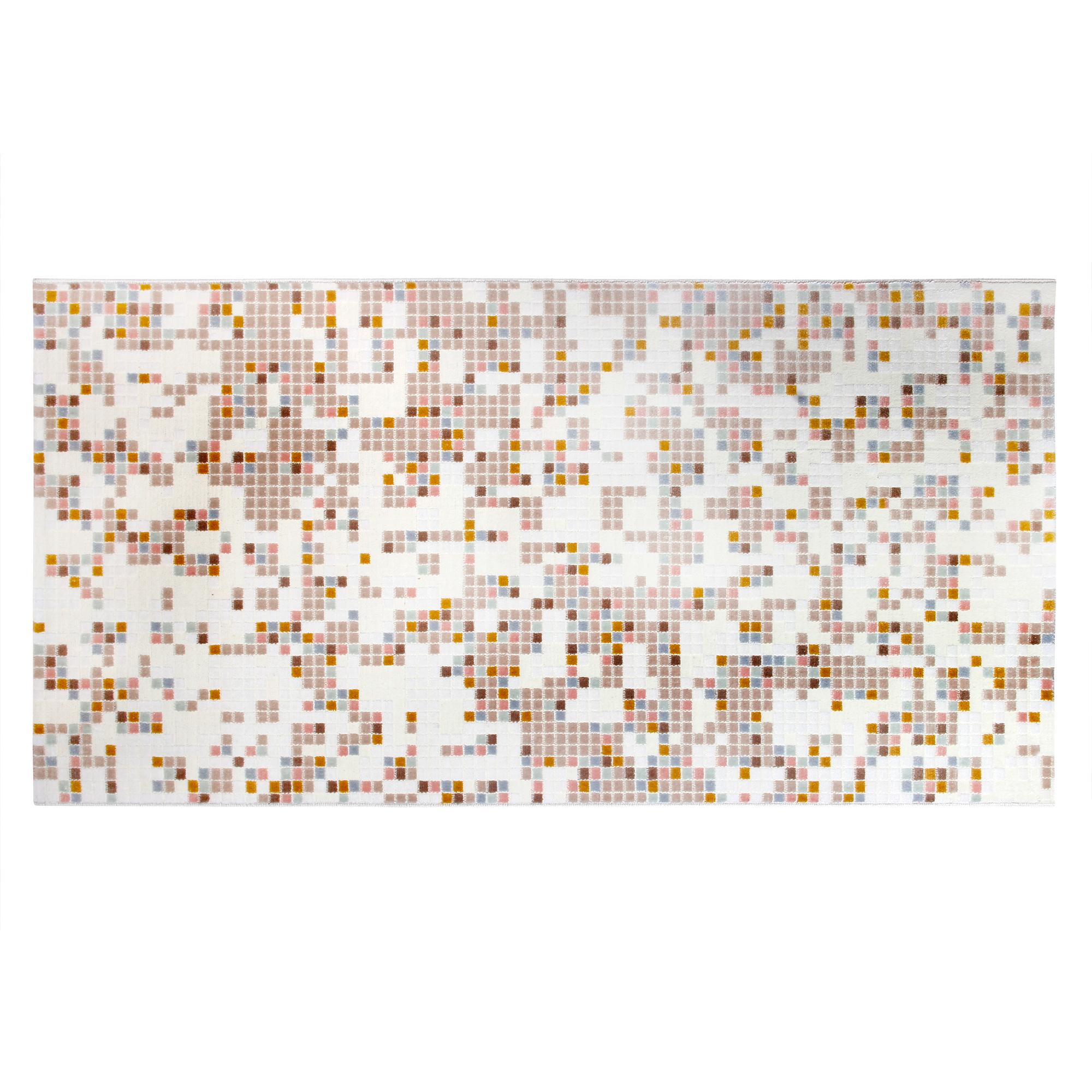 Ковёр 0.80х1.50 сарай якамоз 12776/уайт Ковровые галереи фото