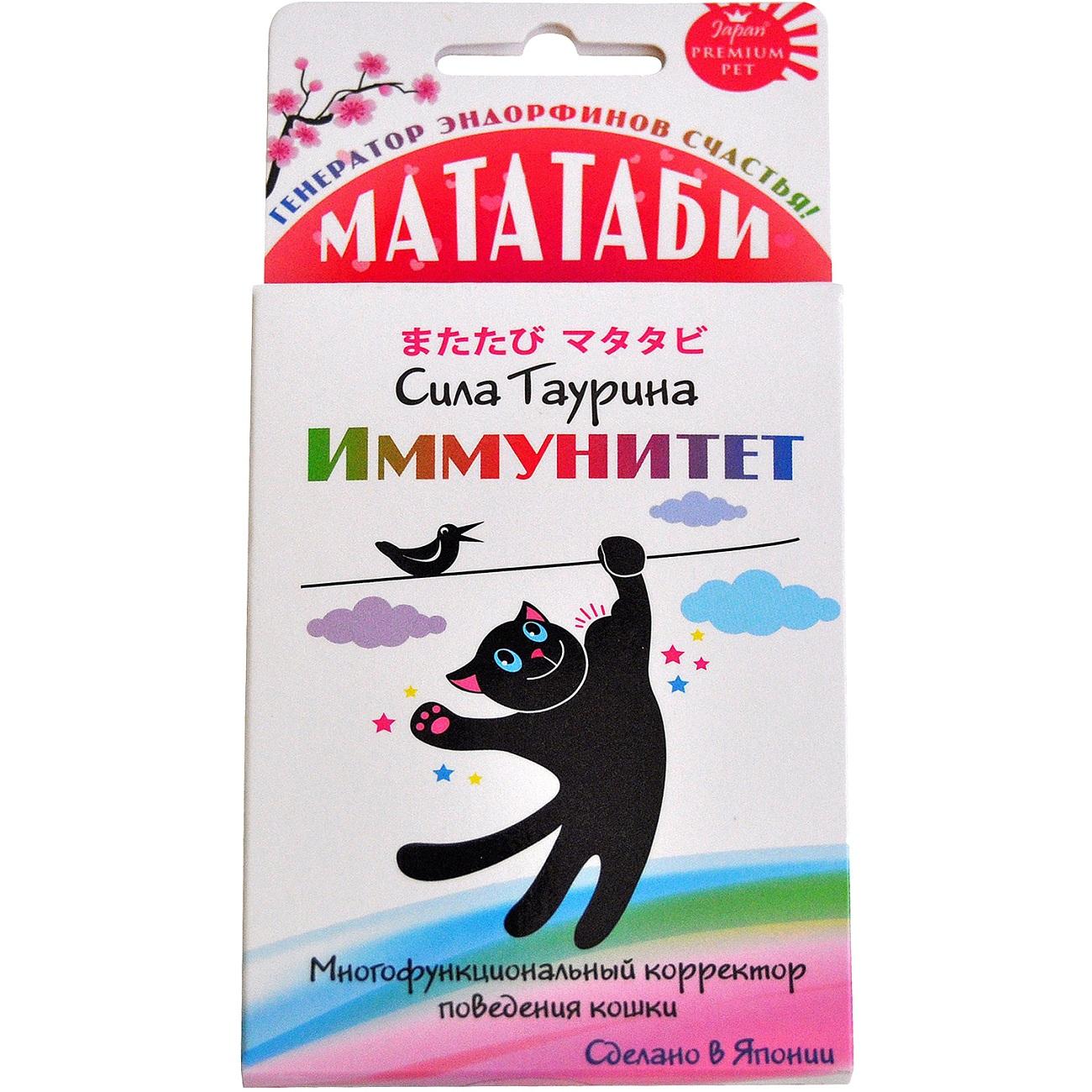 Средство Japan premium pet Мататаби Сила Таурина для иммунитета кошек 1 г