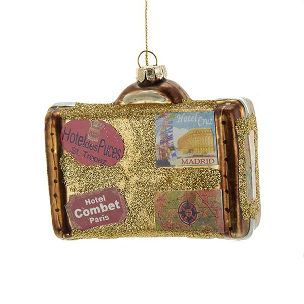 Игрушка елочная чемоданчик Kurt s. adler NB1099