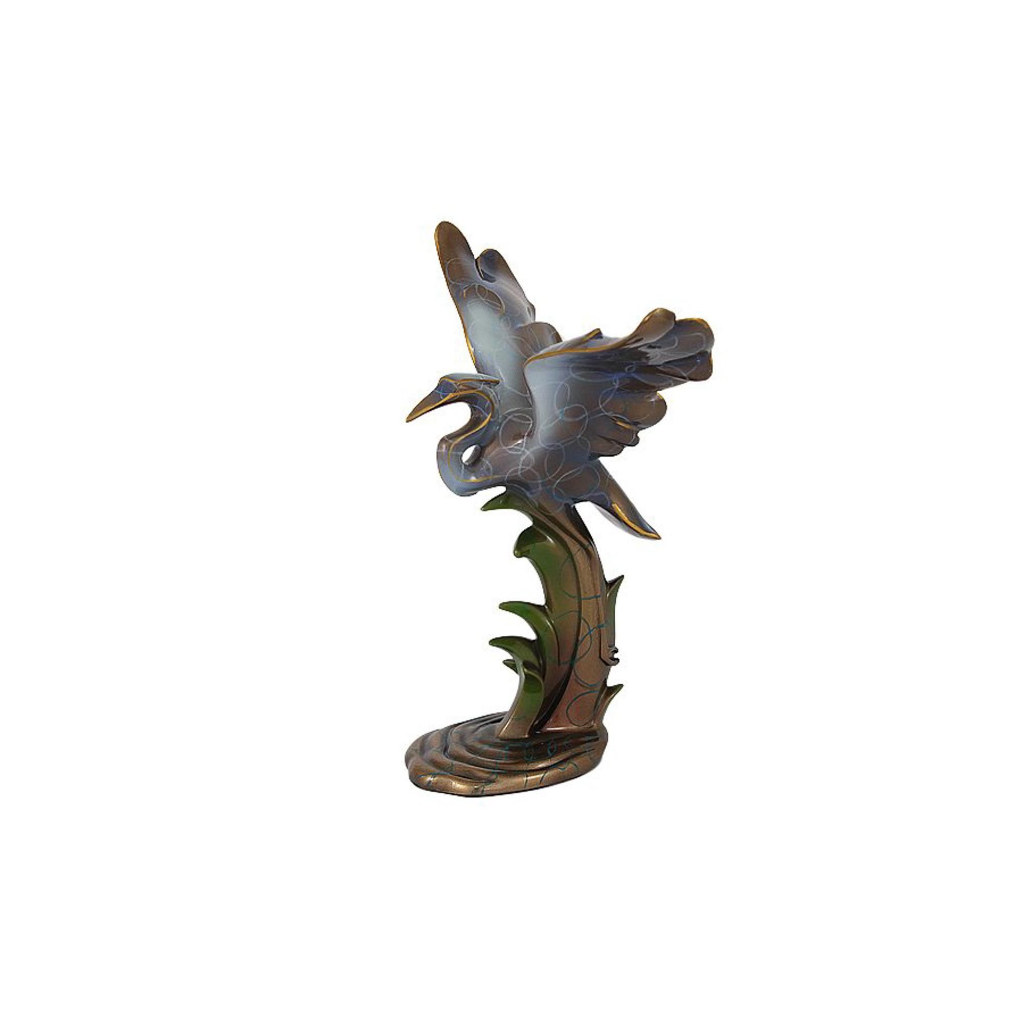 Статуэтка цапля Veronese Vwu70894a4