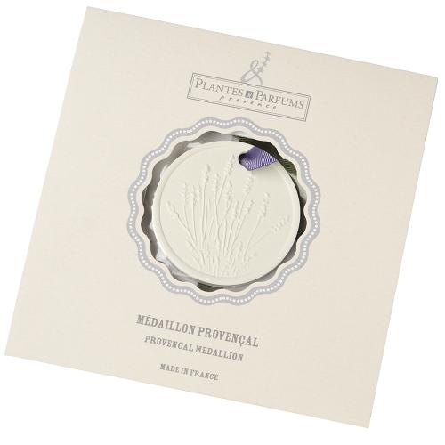 Медальон для духов лаванда Plantes et Parfums (40032)