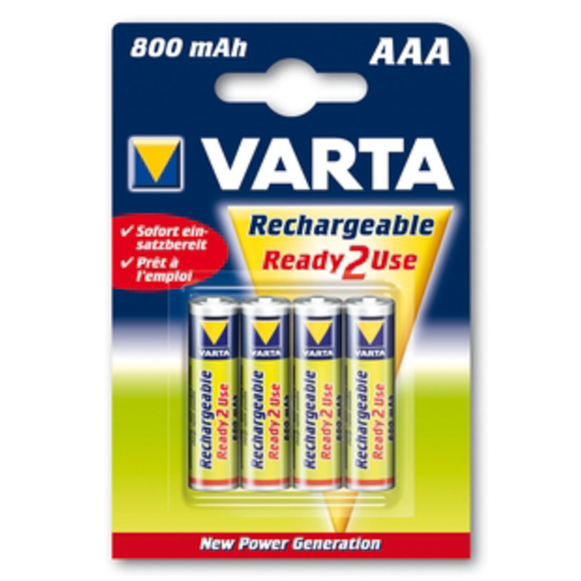 Аккумулятор Varta aaa 800 mah b4 rtu 56703.101.414